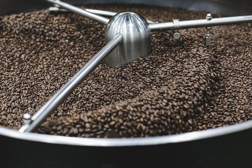 Kaffeebohnen-entkoffeinieren