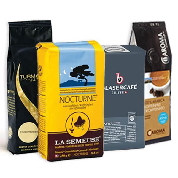 Probierset entkoffeinierte Kaffee