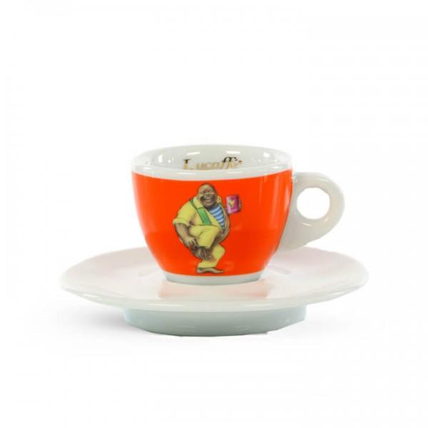 Lucaffé Espressotasse Classic orange