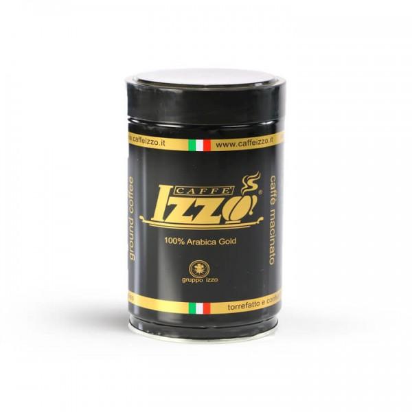 Izzo Caffé Espresso Arabica Gold 250g Dose gemahlen
