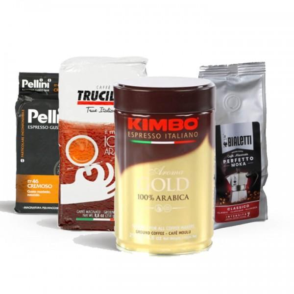 Probierset gemahlener Kaffee fürs Büro XXL 4 Kg (10% günstiger)