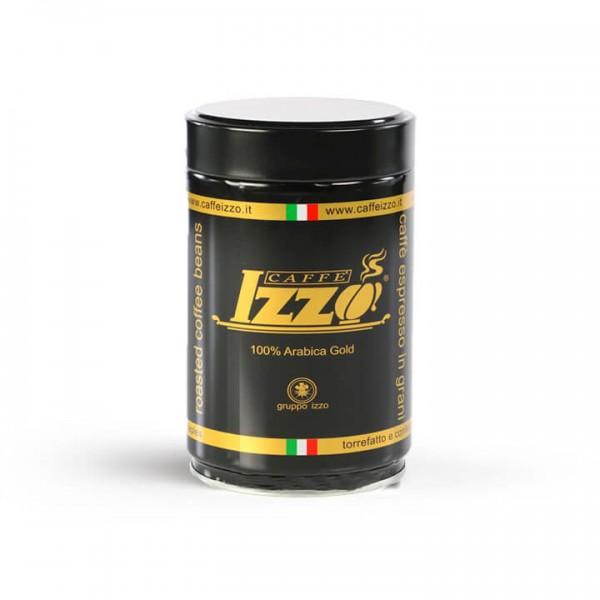 Izzo Caffé Arabica Gold 250g Dose Bohnen