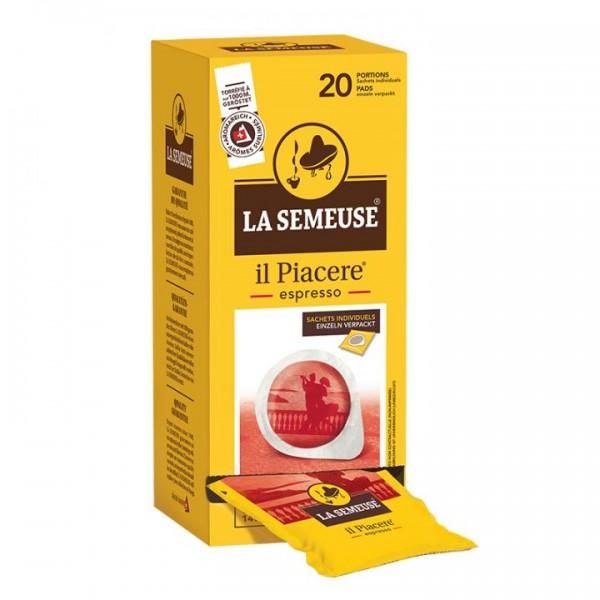 La Semeuse Il Piacere ESE Espresso Pads 20x 7g