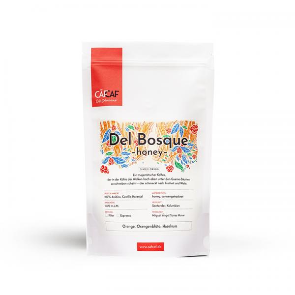 Espresso Del Bosque honey fermentiert