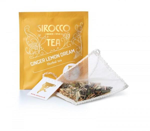 """Sirocco Tee """"Ginger Lemon Dream"""" - Bio-Kräutertee - 20 Btl"""