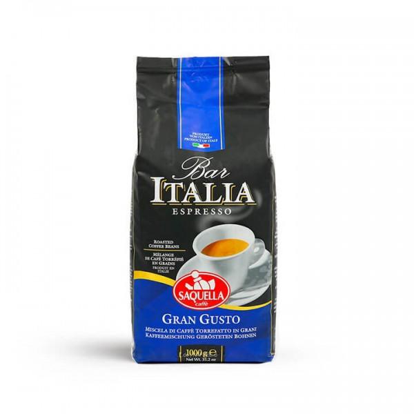 Saquella Caffè - Espresso Bar Italia Gran Gusto 1000g Bohnen