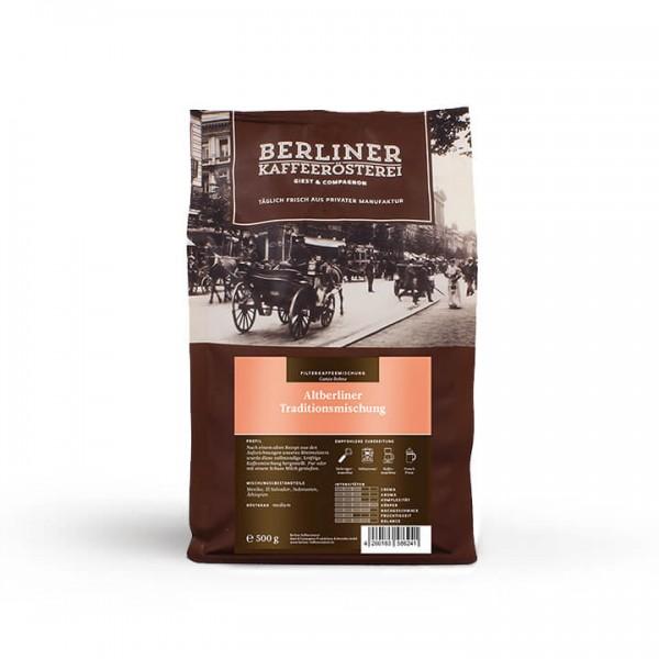 Altberliner Traditionsmischung (500g / ganze Bohnen)