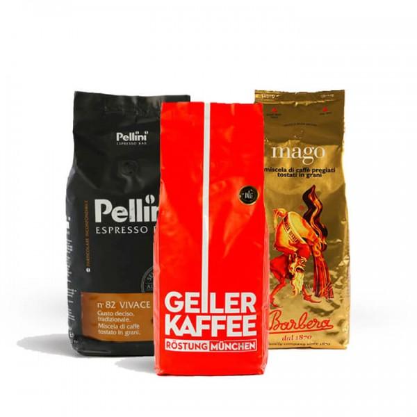 Probierset Kaffee für Vollautomaten XL