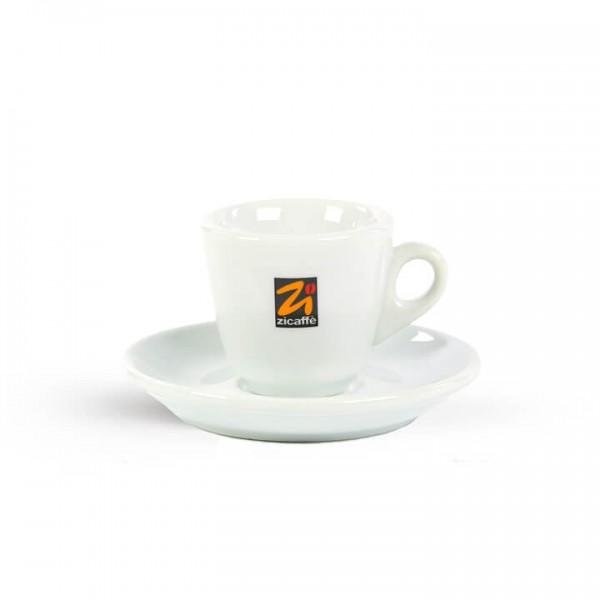 Zicaffé - Espressotasse in weiß