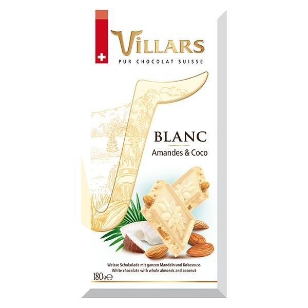 Villars Blanc Amandes Coco