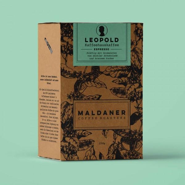 Leopold Vollautomat, Maldaner Coffee Roasters