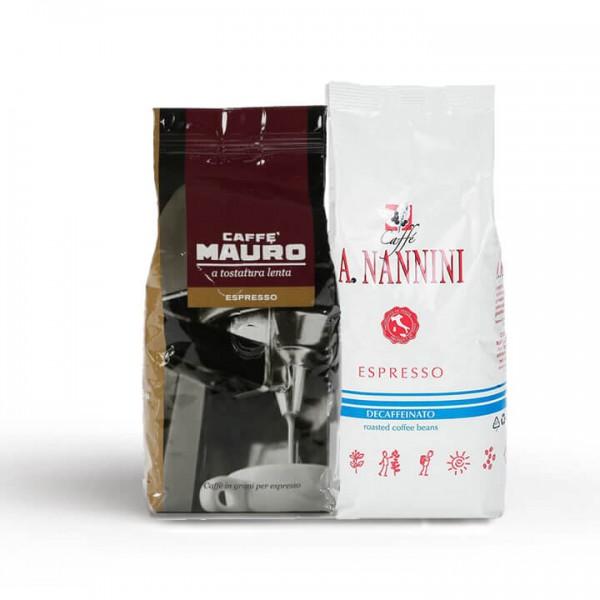 Probierset Koffeinhaltig & Entkoffeiniert