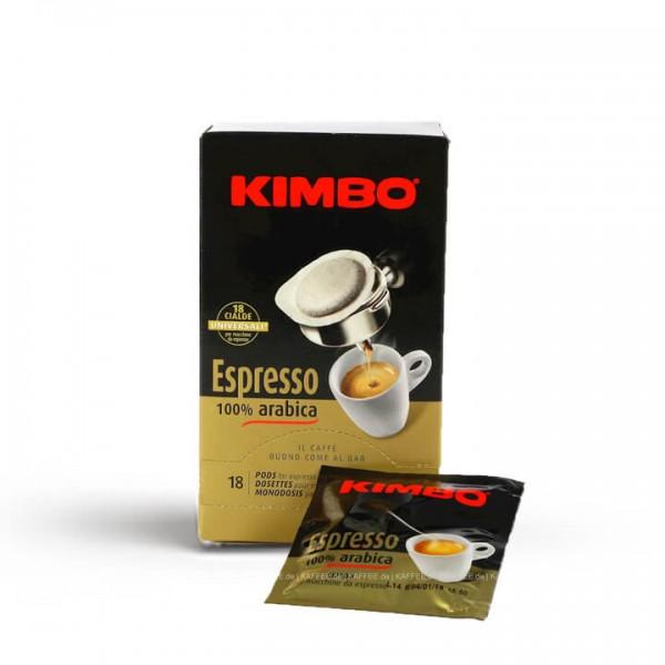 Kimbo Espresso 100% Arabica ESE-Pads 18 Stück