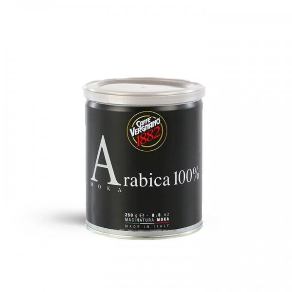 Caffé Vergnano - 100% Arabica Moka 250g Dose gemahlen