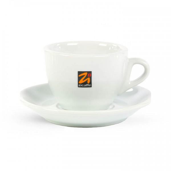 Zicaffé - Cappuccinotasse in weiß