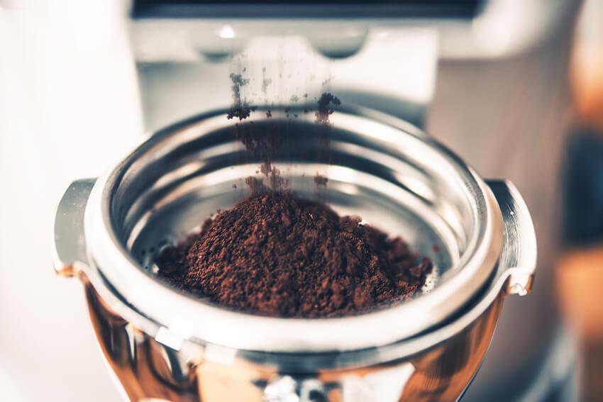 Gemahlener-Espresso