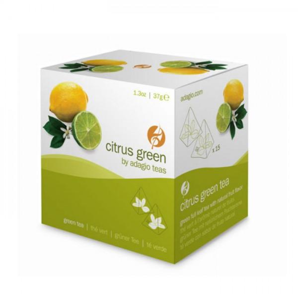 Grüner Tee Pyramidenbeutel Citrus Green Adagio Teas