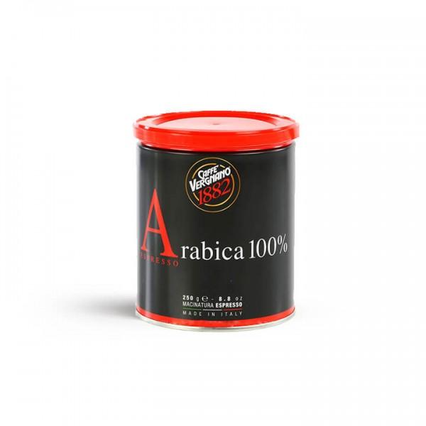 Caffé Vergnano - Espresso 100% Arabica 250g Dose gemahlen