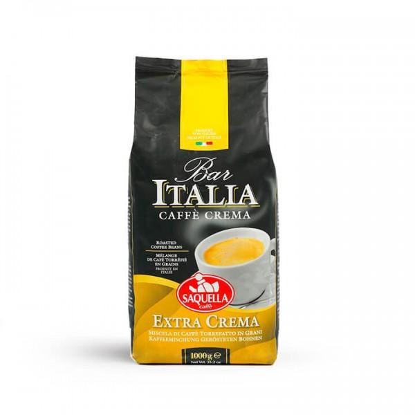 Saquella Caffè - Bar Italia Extra Crema 1000g Bohnen