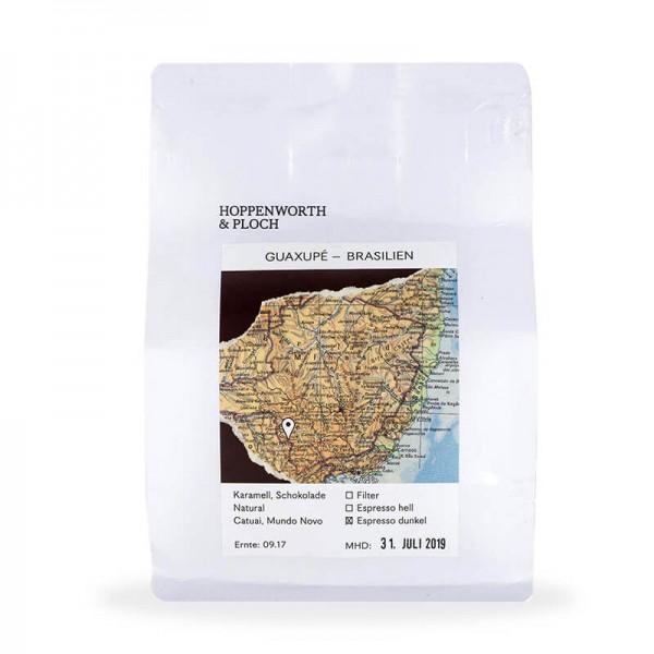 Hoppenworth & Ploch BRASILIEN Espressobohnen DUNKEL 250g