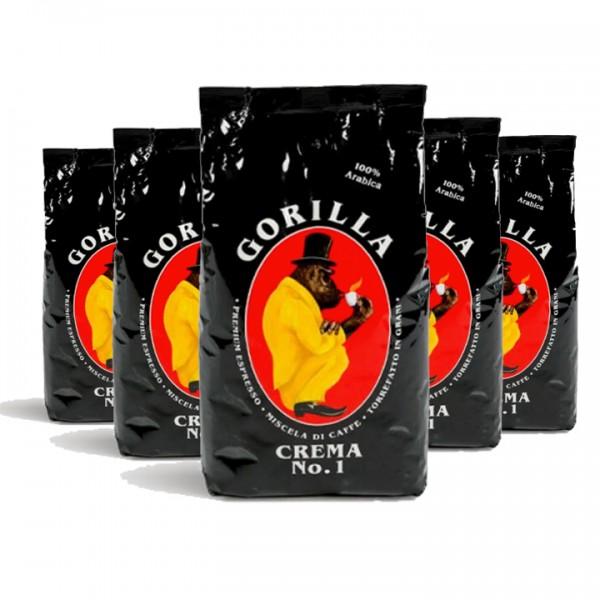 Bohnen fürs Büro Gorilla Espresso Crema No 1 5kg (10% günstiger)