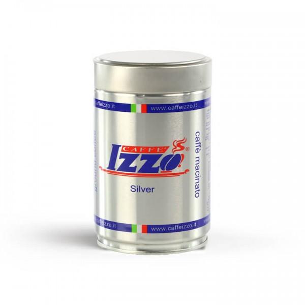 Izzo Caffé Espreso Napoletano Silver 250g Dose gemahlen