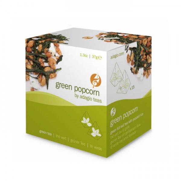 Green Popcorn Genmaicha Beuteltee Adagio Teas