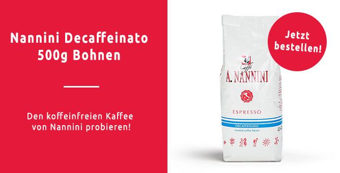 Entkoffeinierter-Kaffee-von-Nannini-bestellen