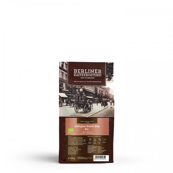 Berliner Kaffeerösterei Äthiopien Bench Maji Bio (120g / gemahlen Stufe 3)