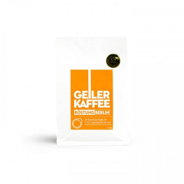 Geiler Kaffee - Röstung Berlin 20 ESE-Pads
