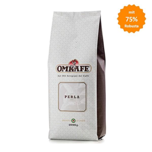 Omkafe Perla Espresso 75% Robusta