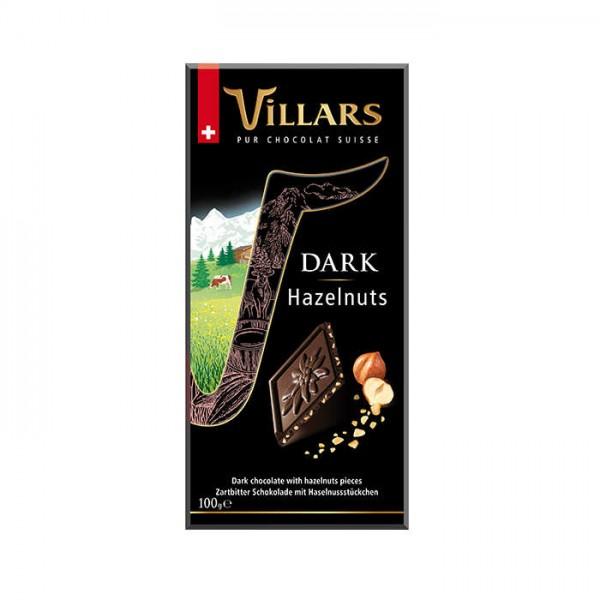Villars dunkle Schokolade Nuss 100g