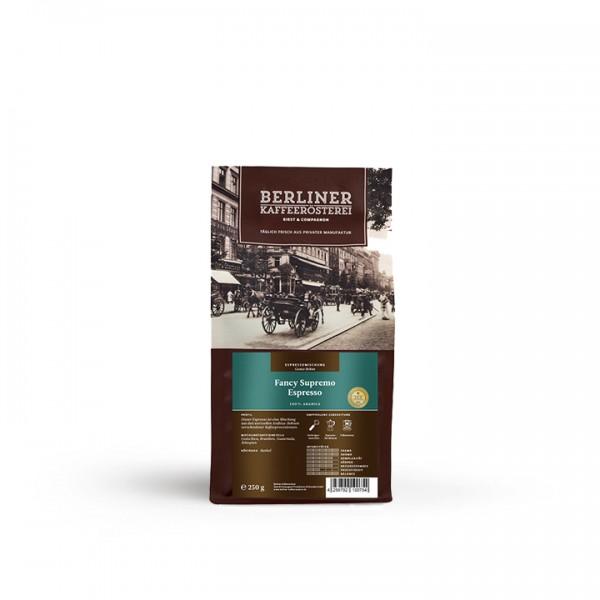 Berliner Kaffeerösterei Fancy Supremo Espresso (250g / ganze Bohne)