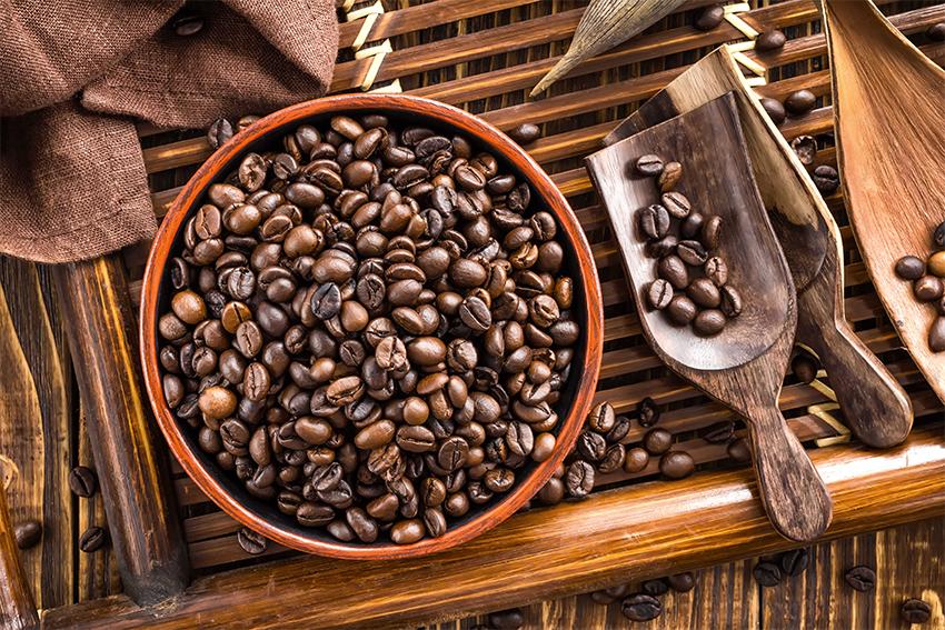 Frische-Kaffeebohnen