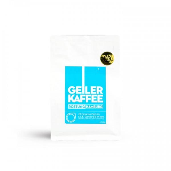 Geiler Kaffee - Röstung Hamburg 20 ESE-Pads