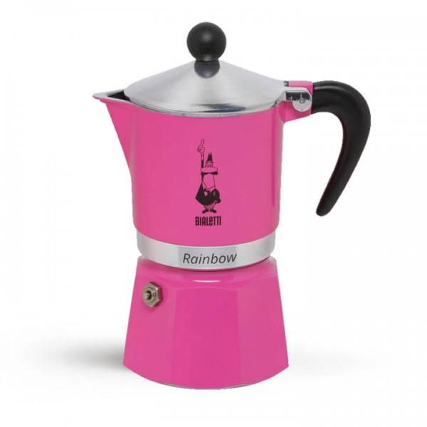 Bialetti Espressokocher Rainbow primavera rosa