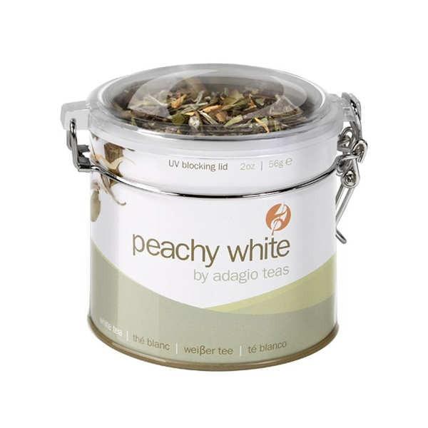 Peach White Weisser Tee Pfirsicharomen Adagio Teas