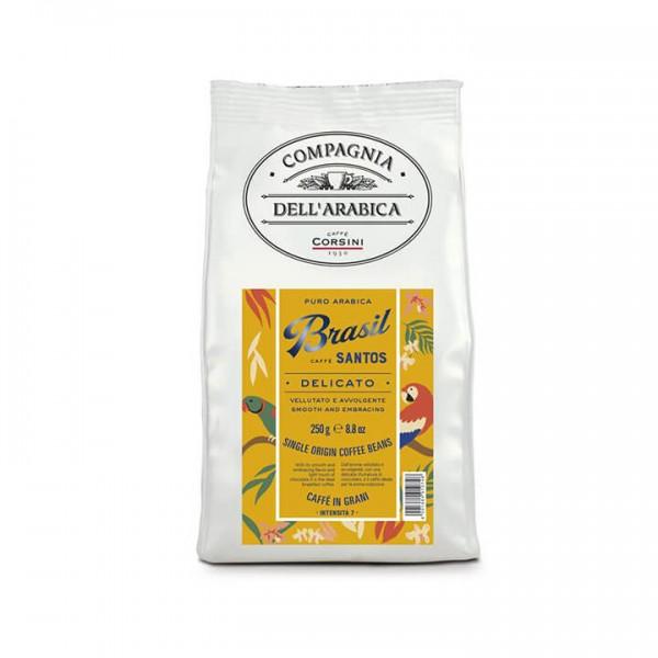 Caffè Corsini Brasil Santos 250g Bohnen