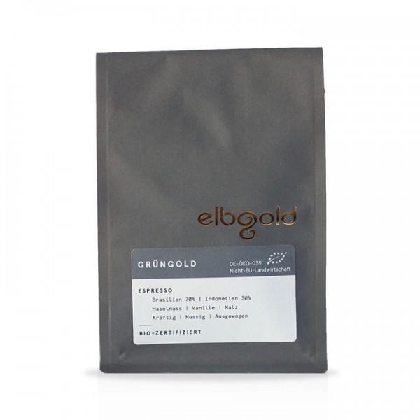elbgold Espresso Grüngold Bio 250g