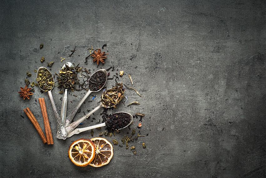 Roberts-Teehaus-Teevielfalt