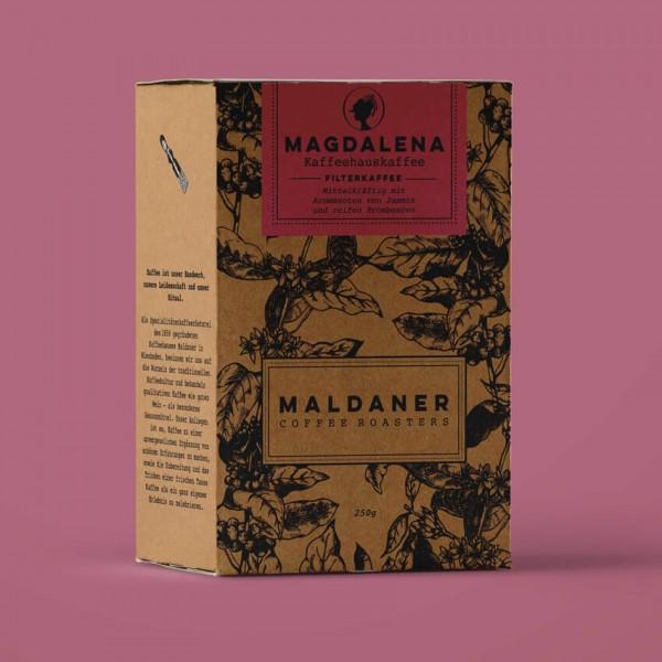 Magdalena sortenreiner Filterkaffee, Maldaner Coffee Roasters
