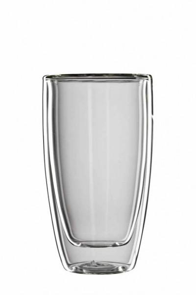 bloomix C-113-300 Roma Latte Macchiato - doppelwandiges Latte Macchiato Glas